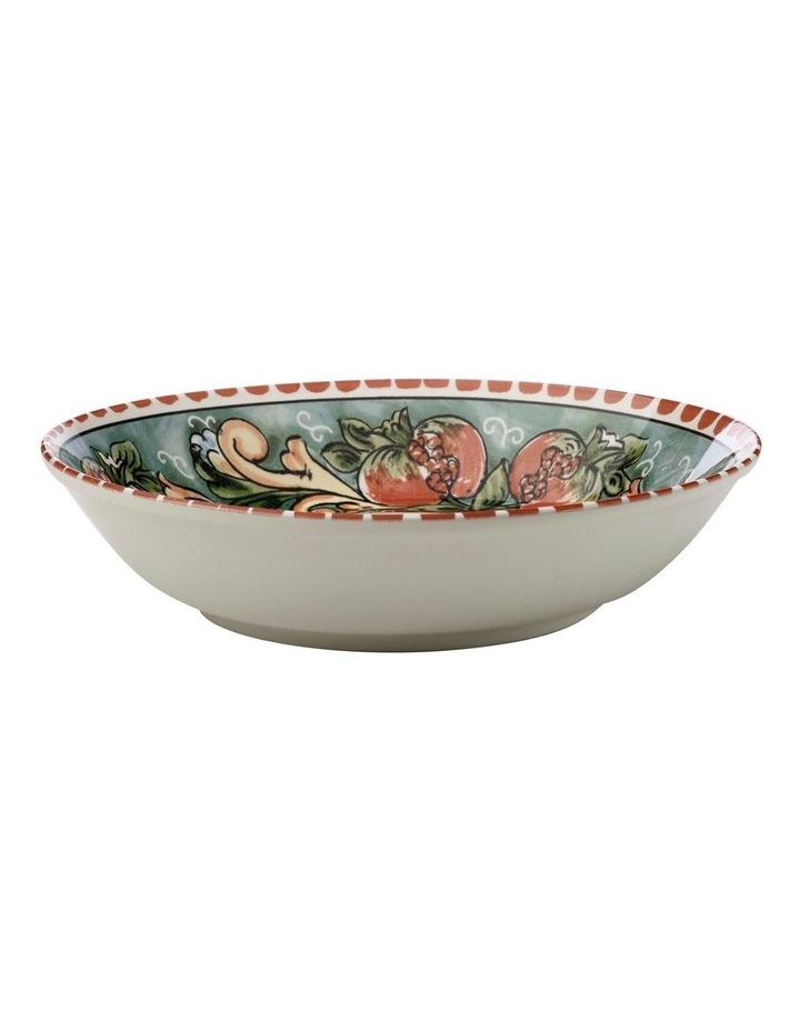 Ceramica Salerno 30cm Bowl in Pomegranates Print image 1