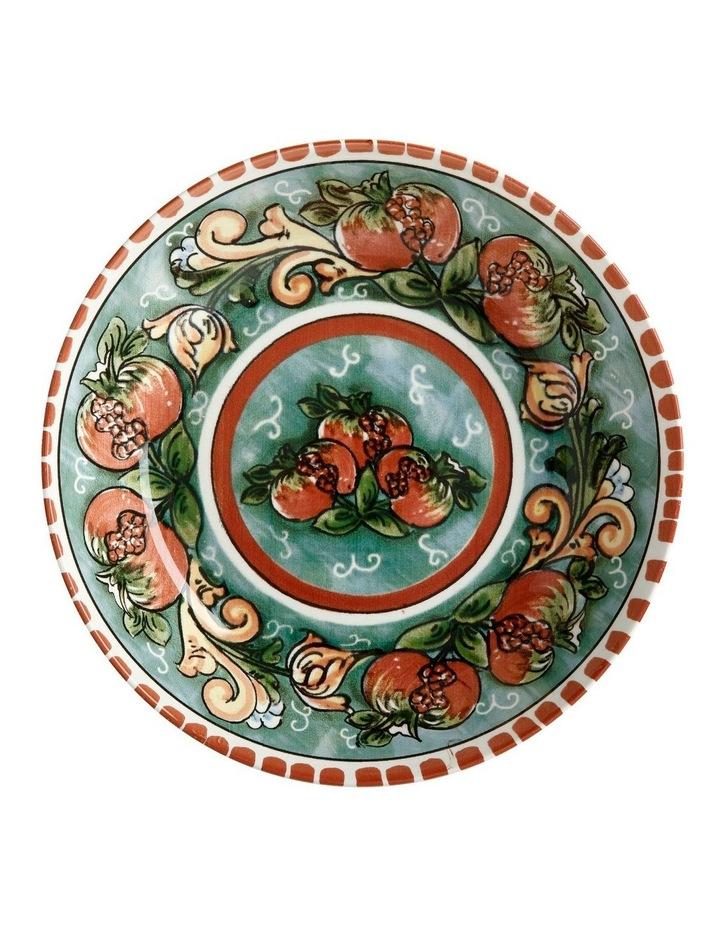 Ceramica Salerno 30cm Bowl in Pomegranates Print image 2