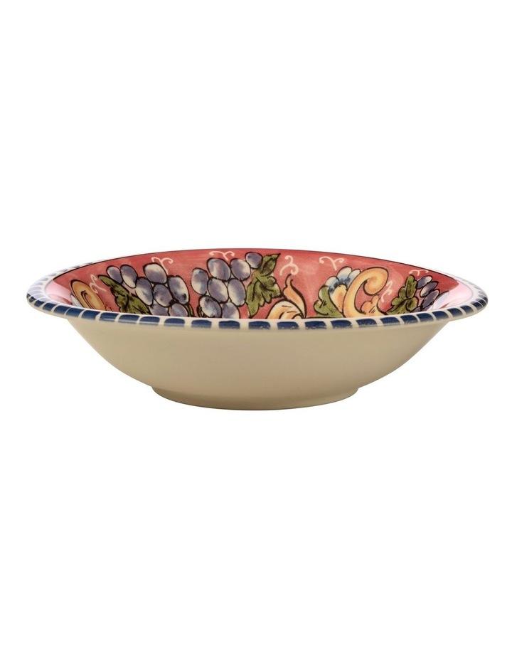 Ceramica Salerno 21cm Pasta Bowl in Grapes Print image 1