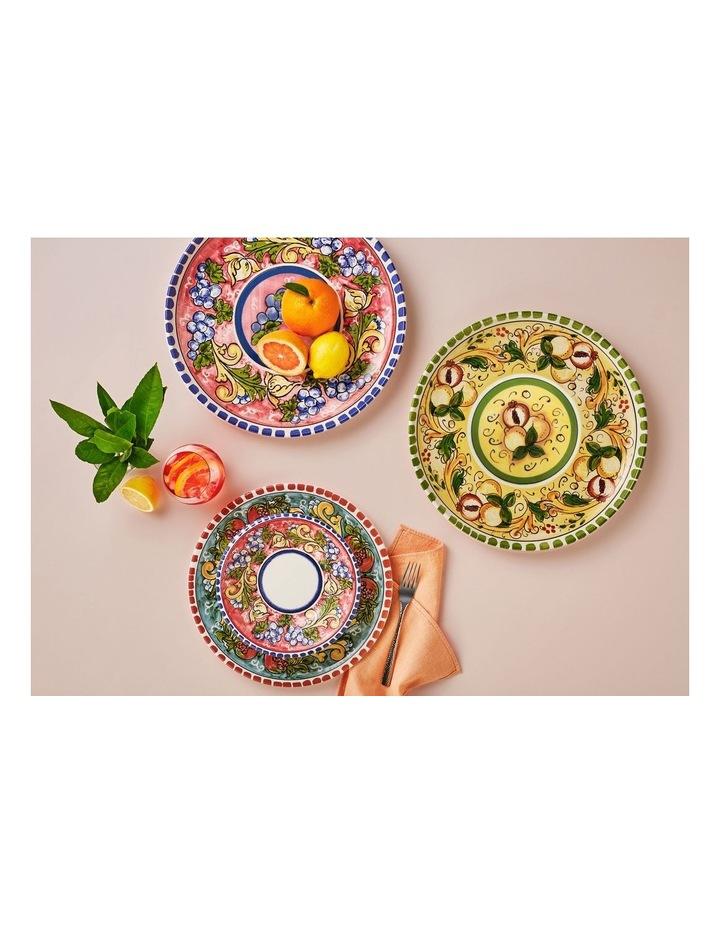 Ceramica Salerno 21cm Pasta Bowl in Grapes Print image 3