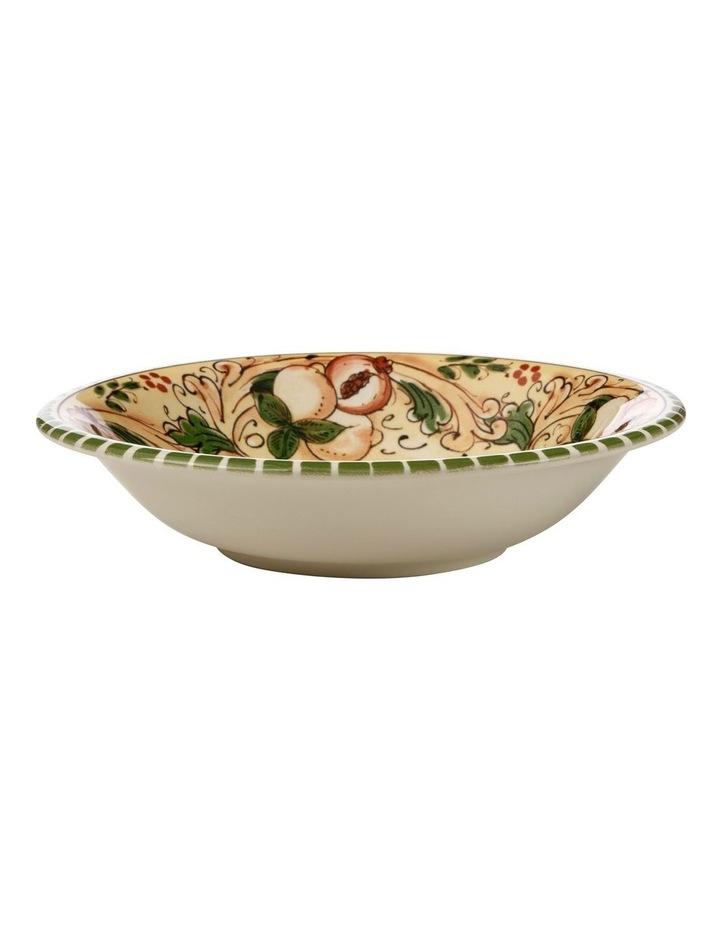 Ceramica Salerno 21cm Pasta Bowl in Peaches Print image 1