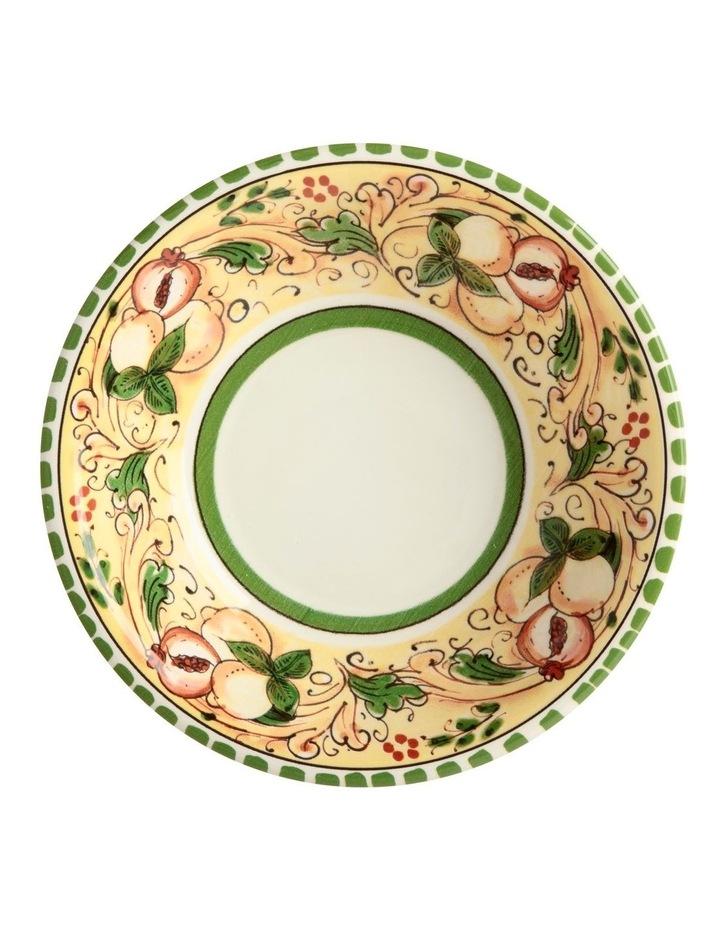 Ceramica Salerno 21cm Pasta Bowl in Peaches Print image 2