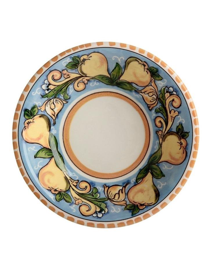 Ceramica Salerno 21cm Pasta Bowl in Pears Print image 2