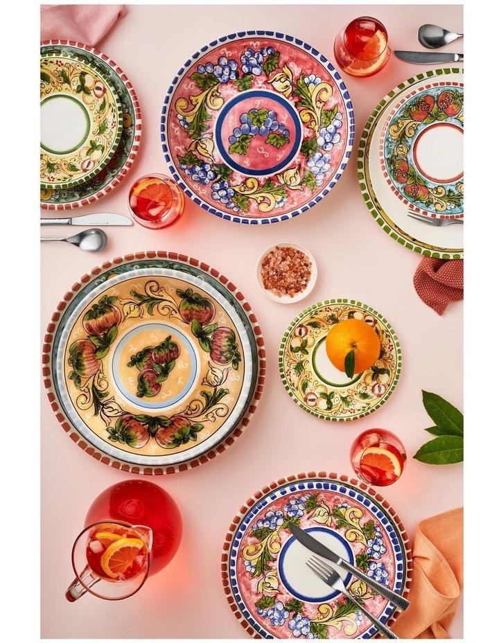 Ceramica Salerno 21cm Pasta Bowl in Pears Print image 3