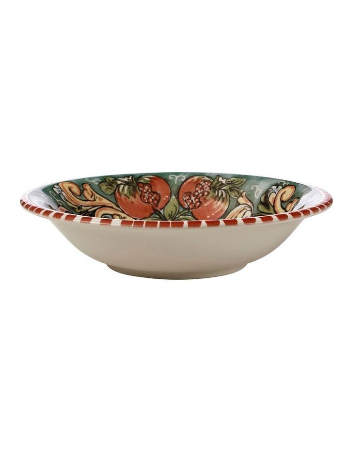 Ceramica Salerno 21cm Pasta Bowl in Pomegranates Print image 1