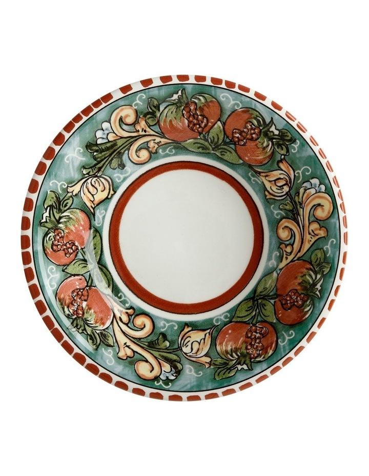 Ceramica Salerno 21cm Pasta Bowl in Pomegranates Print image 2