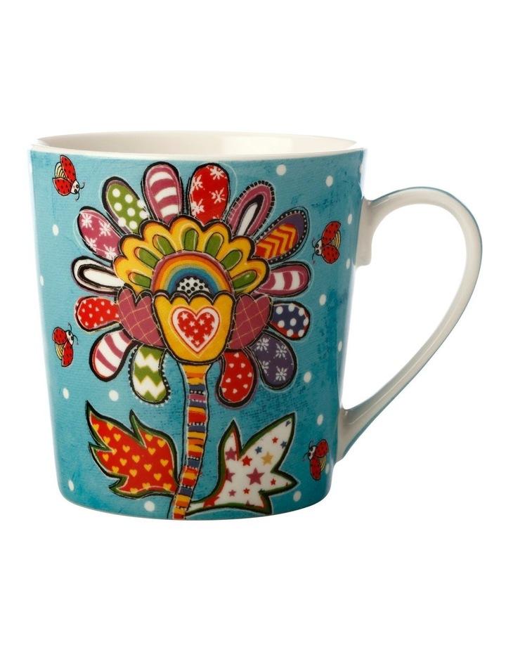 Donna's Garden Bubbly Blossom 350ml Mug in Tin Gift Box image 1