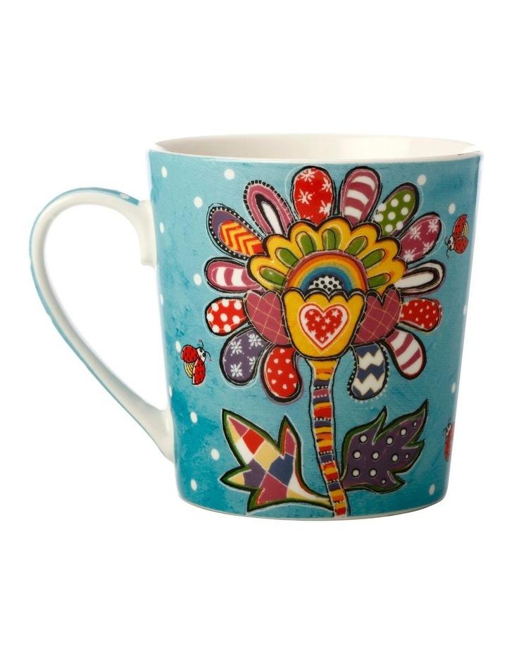 Donna's Garden Bubbly Blossom 350ml Mug in Tin Gift Box image 2