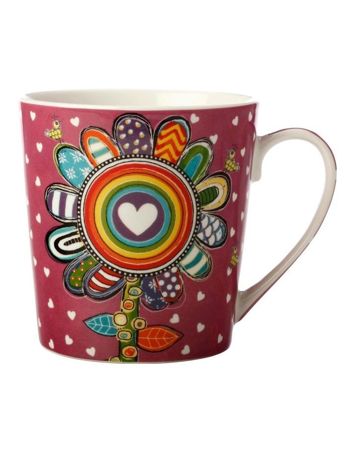 Donna's Garden Delightful Daisy 350ml Mug in Tin Gift Box image 1
