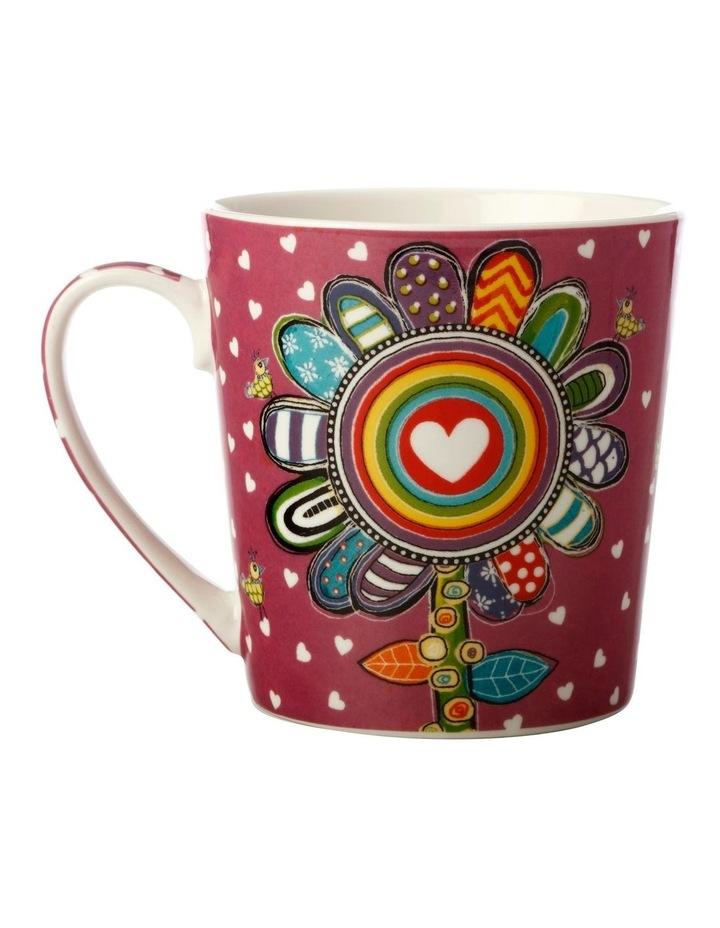 Donna's Garden Delightful Daisy 350ml Mug in Tin Gift Box image 2