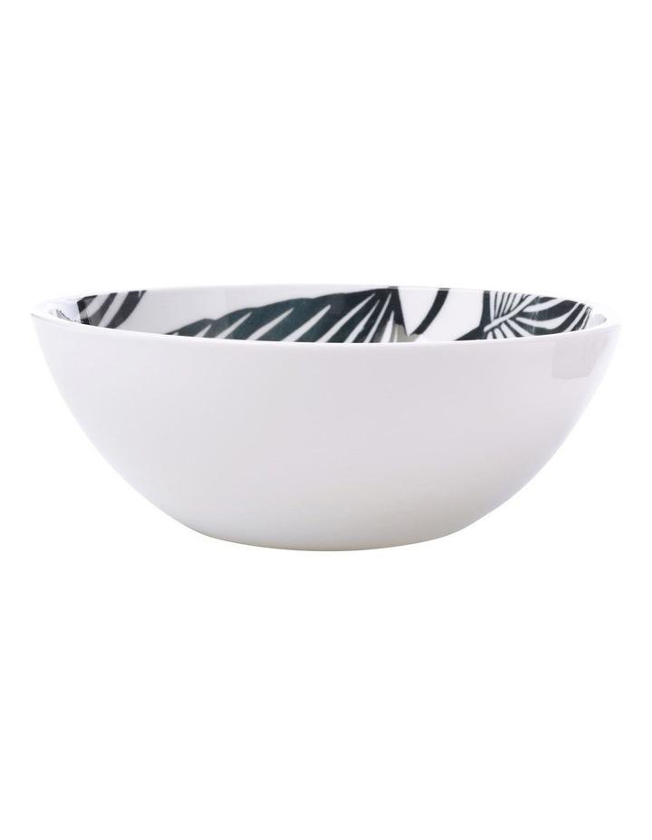 Panama Bowl 16cm White & Grey image 1
