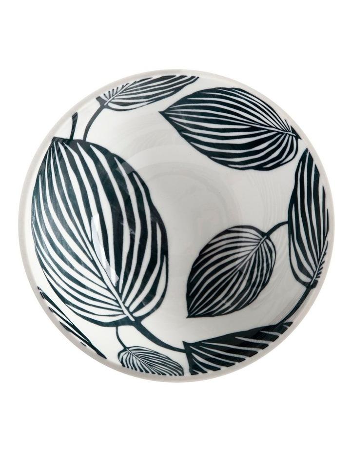 Panama Bowl 16cm White & Grey image 2