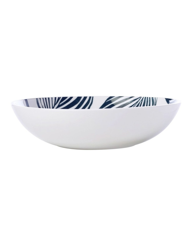 Panama Coupe Bowl 20cm White & Grey image 1