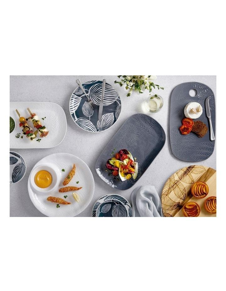 Panama Dinner Plate 26.5cm White & Grey image 2