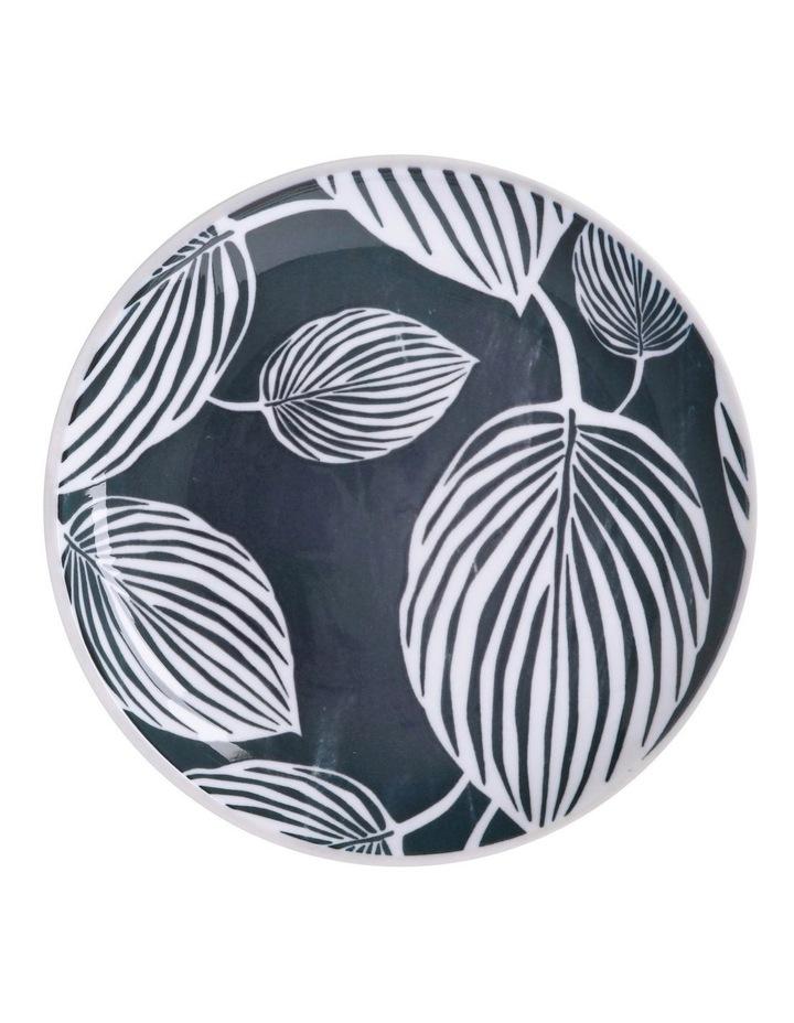 Panama Side Plate 20cm Grey & White image 1