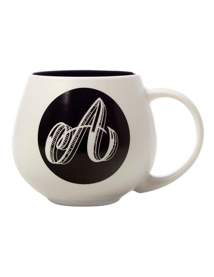 "The Letterettes Snug Mug 450ML ""A"" Gift Boxed image 1"