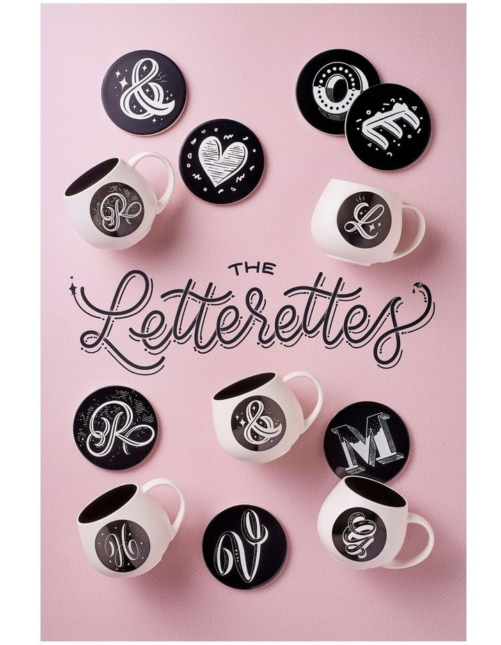 "The Letterettes Snug Mug 450ML ""A"" Gift Boxed image 2"