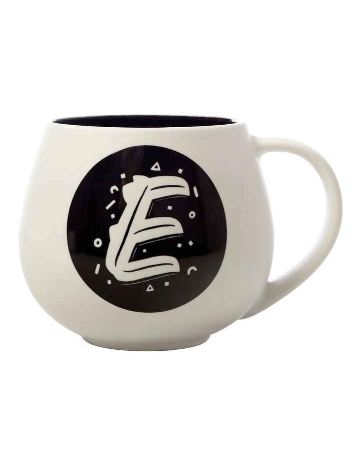 "The Letterettes Snug Mug 450ML ""E"" Gift Boxed image 1"