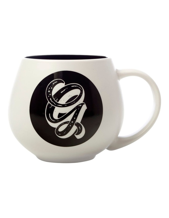"The Letterettes Snug Mug 450ML ""G"" Gift Boxed image 1"