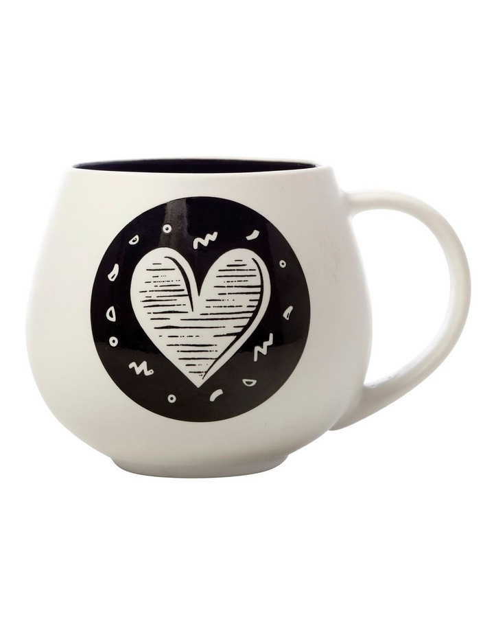 "The Letterettes Snug Mug 450ML ""HRT"" Gift Boxed image 1"