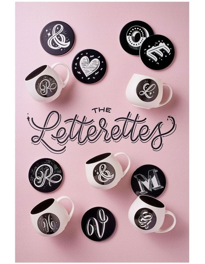 "The Letterettes Snug Mug 450ML ""HRT"" Gift Boxed image 2"