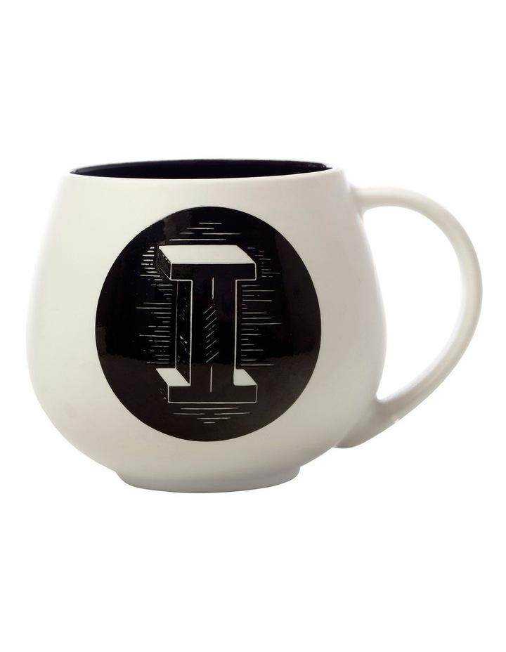 "The Letterettes Snug Mug 450ML ""I"" Gift Boxed image 1"