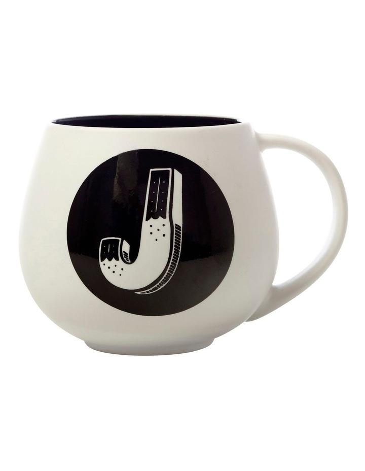 "The Letterettes Snug Mug 450ML ""J"" Gift Boxed image 1"