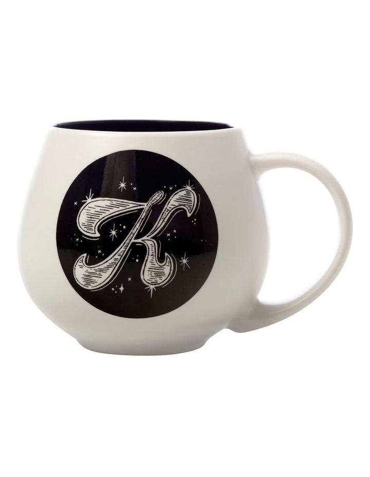 "The Letterettes Snug Mug 450ML ""K"" Gift Boxed image 1"