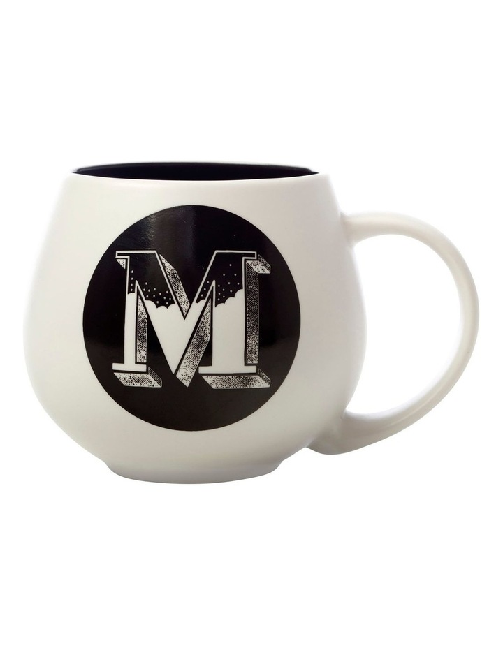 "The Letterettes Snug Mug 450ML ""M"" Gift Boxed image 1"
