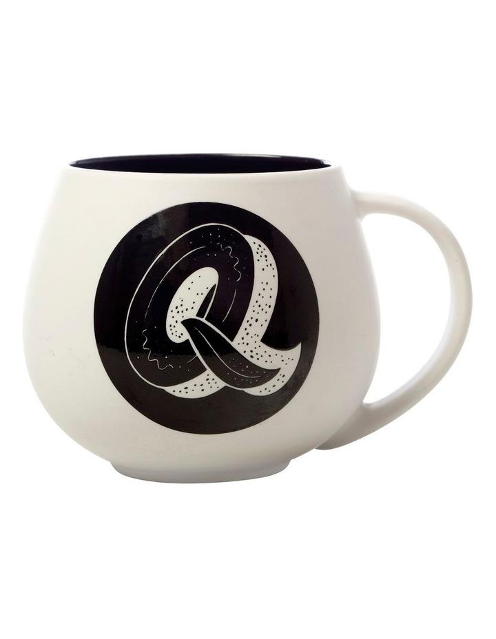 "The Letterettes Snug Mug 450ML ""Q"" Gift Boxed image 1"