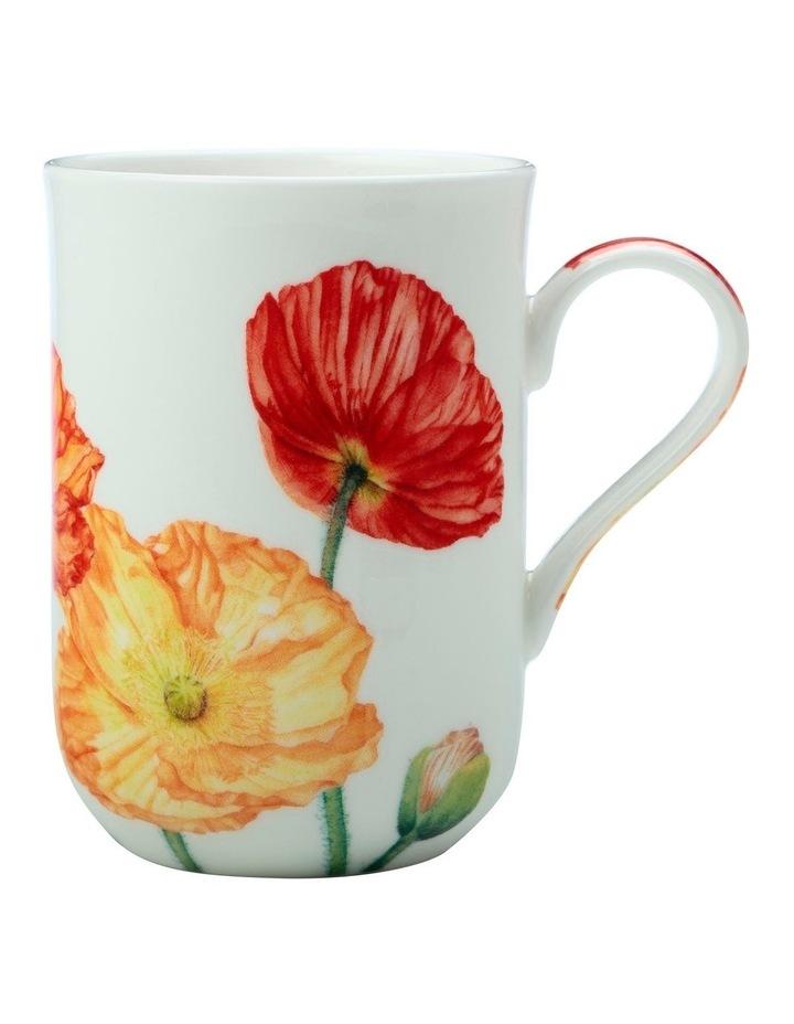Katherine Castle Floriade Mug 350ML Poppy Gift Boxed image 1