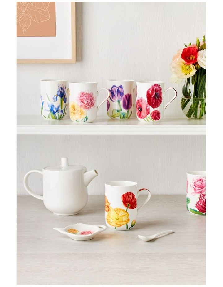 Katherine Castle Floriade Mug 350ML Poppy Gift Boxed image 2