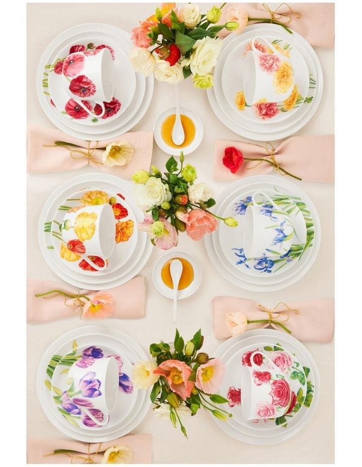 Katherine Castle Floriade Plate 20cm Ranunculus Gift Boxed image 2