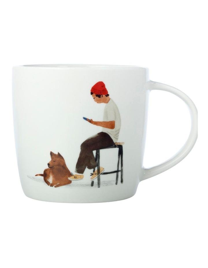 Marc Martin BFF Mug 400ML Cafe Waiting Gift Boxed image 1