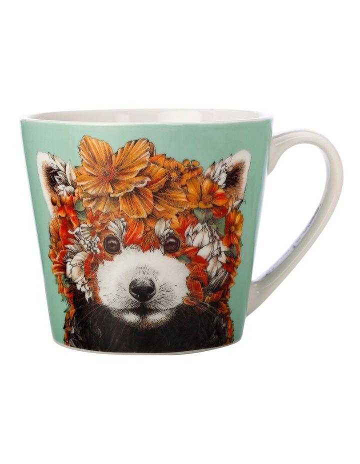 Marini Ferlazzo Wild Planet Mug 400ML Red Panda Gift Boxed image 1