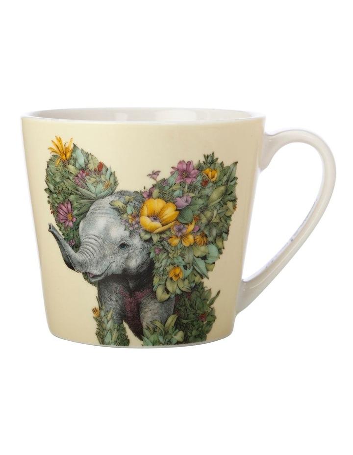 Marini Ferlazzo Wild Planet Mug 400ML Elephant Gift Boxed image 1