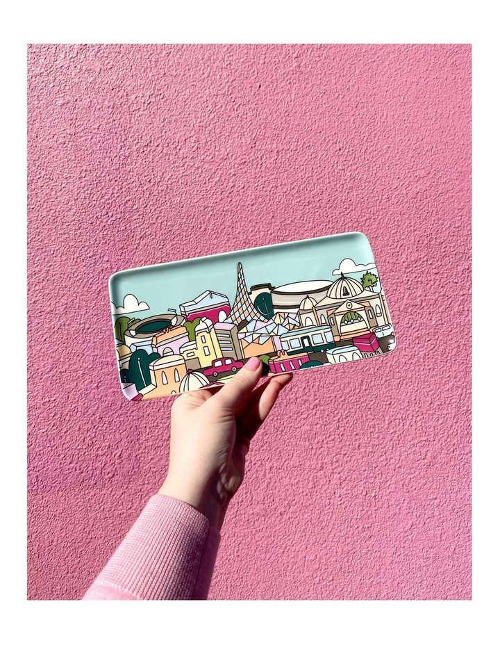 Megan McKean Cities Rectangle Plate 25x12cm Tokyo Gift Boxed image 4