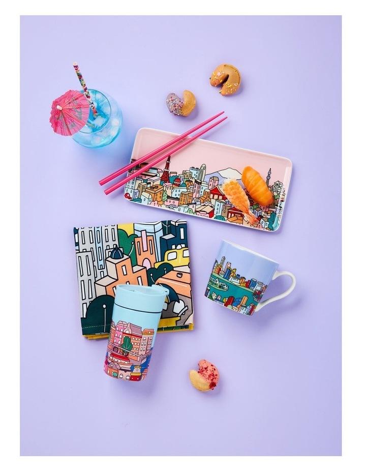 Megan McKean Cities Rectangle Plate 25x12cm Venice Gift Boxed image 2