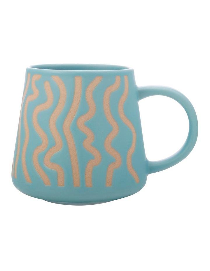 Squiggle Mug 420ML Blue image 1