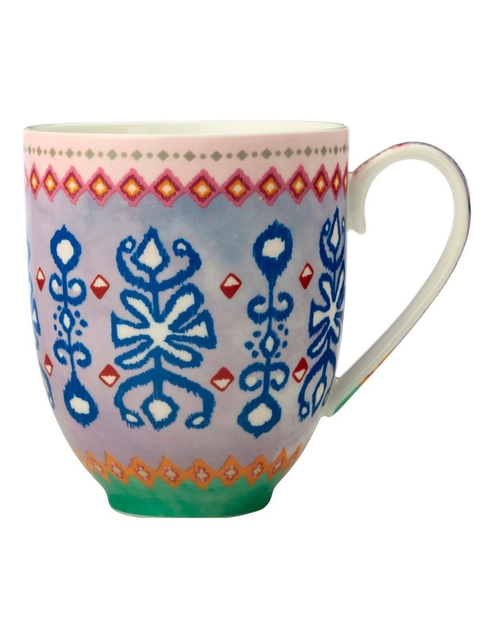Teas & C's Zanzibar Coupe Mug 420ML Ikat Gift Boxed image 1