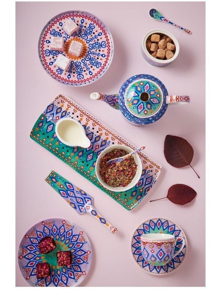 Teas & C's Zanzibar Coupe Plate 19.5cm Diamonds Gift Boxed image 3