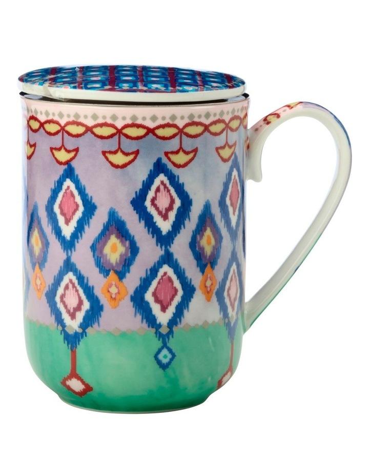 Teas & C's Zanzibar Lidded Mug With Infuser 340ML Gift Boxed image 1
