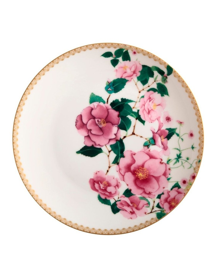 Teas & C's Silk Road Coupe Plate 19.5cm White Gift Boxed image 1