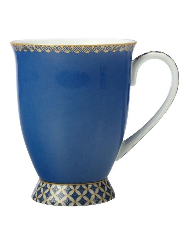 Teas & C's Classic Footed Mug 300ML Blue Gift Boxed image 1
