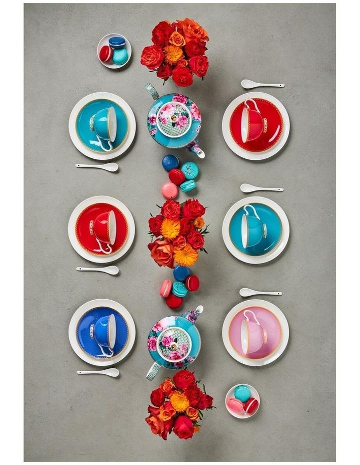Teas & C's Classic Footed Mug 300ML Blue Gift Boxed image 4