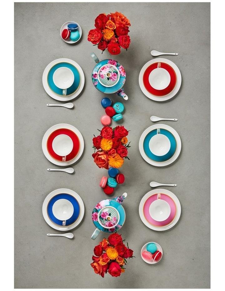 Teas & C's Classic Footed Mug 300ML Blue Gift Boxed image 5