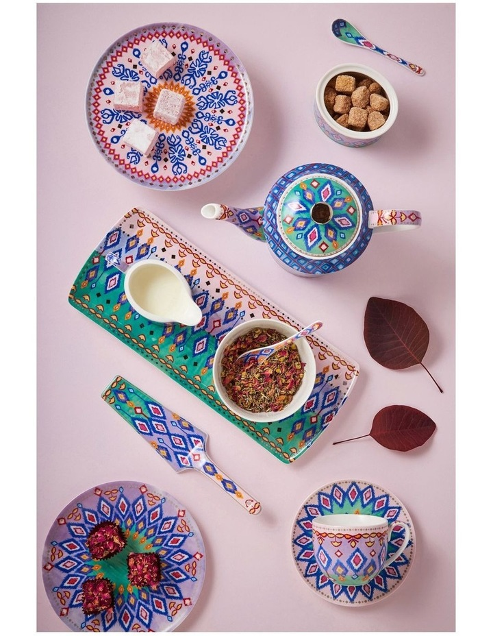 Teas & C's Zanzibar Coupe Plate 19.5cm Ikat Gift Boxed image 3