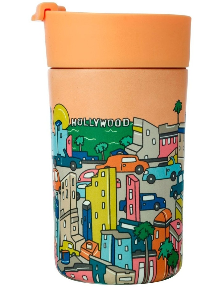 Megan McKean Cities Double Wall Insulated Cup 350ML Los Angeles image 1