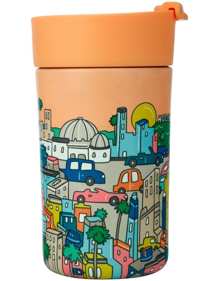 Megan McKean Cities Double Wall Insulated Cup 350ML Los Angeles image 2
