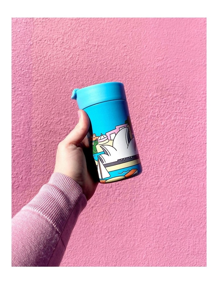 Megan McKean Cities Double Wall Insulated Cup 350ML Los Angeles image 4